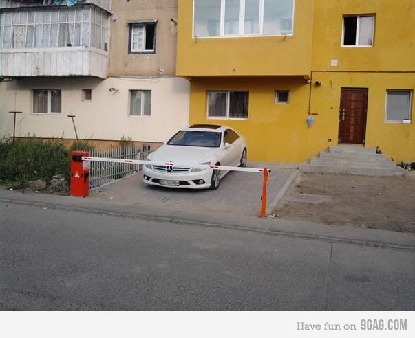 parcare privata